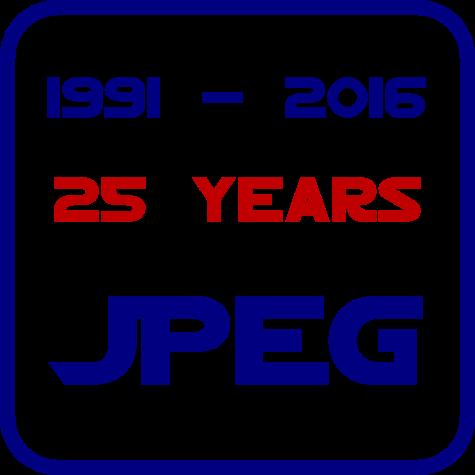Logo for JPEG Jubiläum