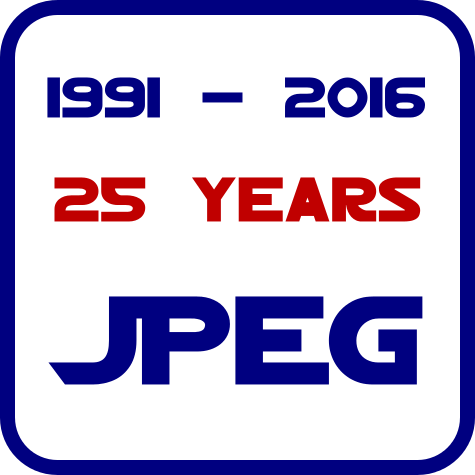 Logo for JPEG Jubiläum